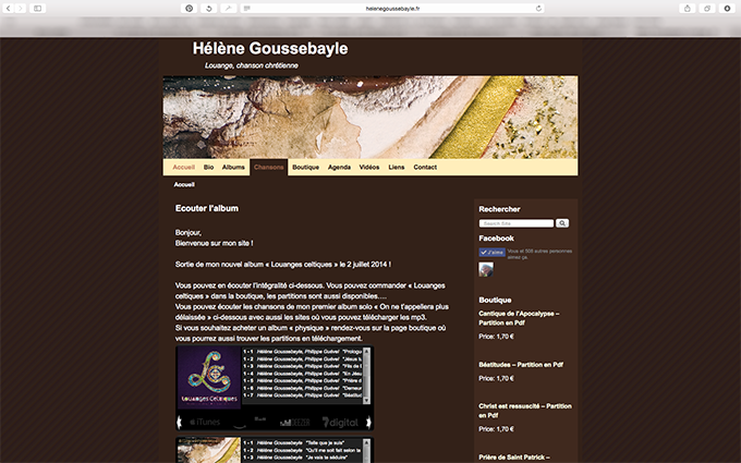 Hélène Goussebayle Site